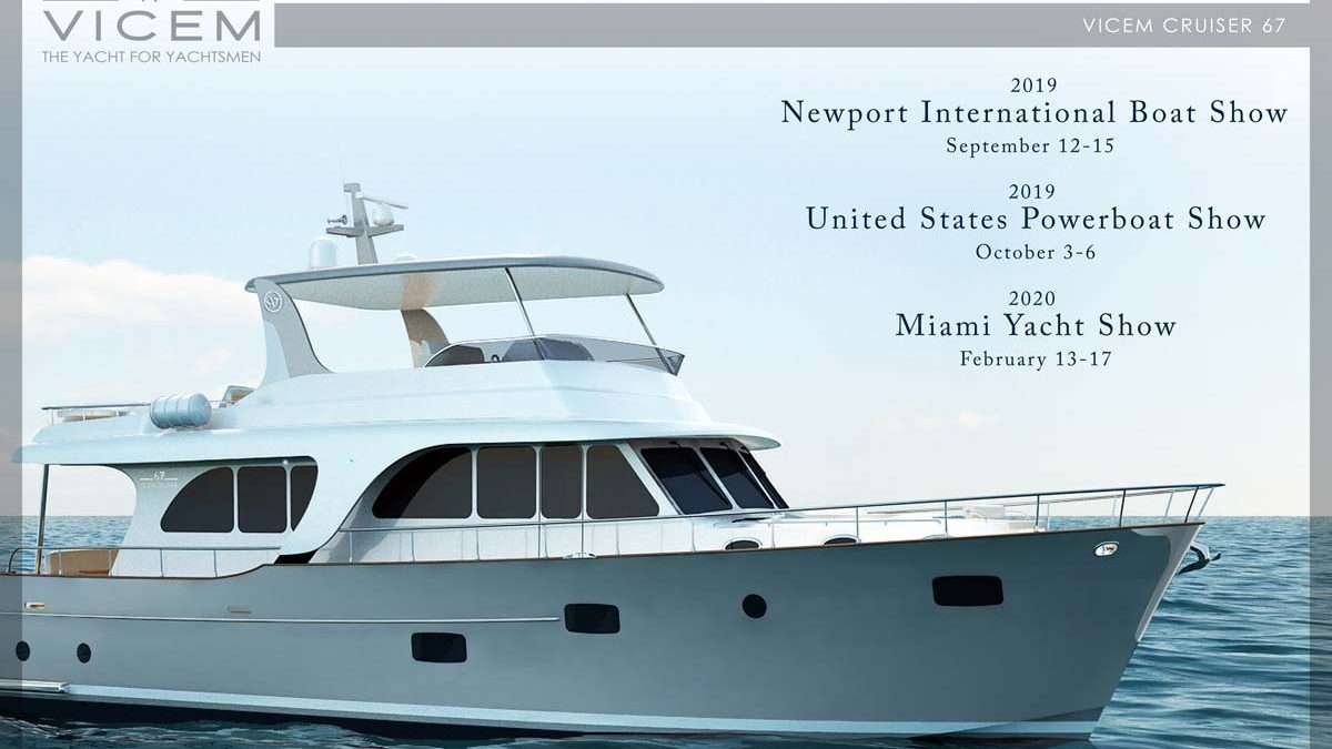 Miami Boat Show Dates 2020.2019 2020 Fall Winter Events Vicem Yachts